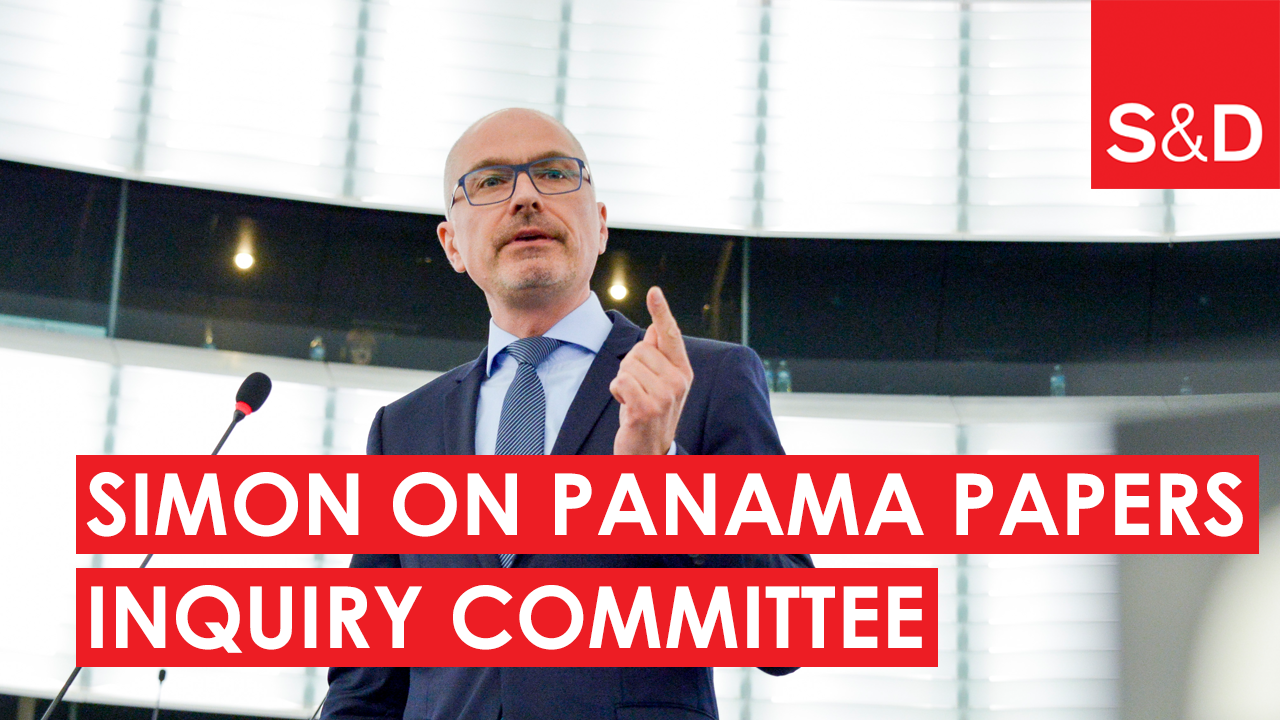 Peter Simon on the Panama Papers Inquiry Committee