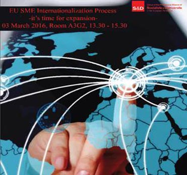 EU SME Internationalisation Process,MEP Maria Grapini, European Exhibition Industry Alliance,