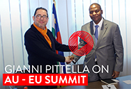 Pittella  EU and Africa summit