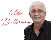 Il presidente Udo Bullmann