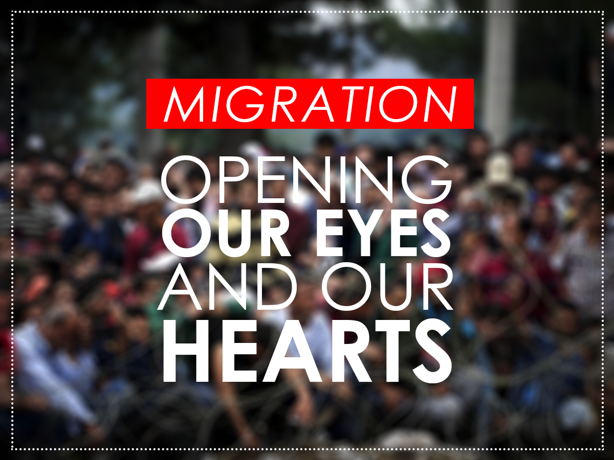 Migration - trext - opening our eyes and our hearts