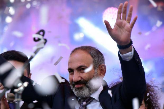 Nikol Pashinyan wins Armenian elections