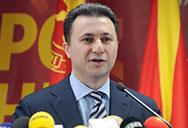 The country's prime minister, Nikola Gruevski, Macedonia, FYROM