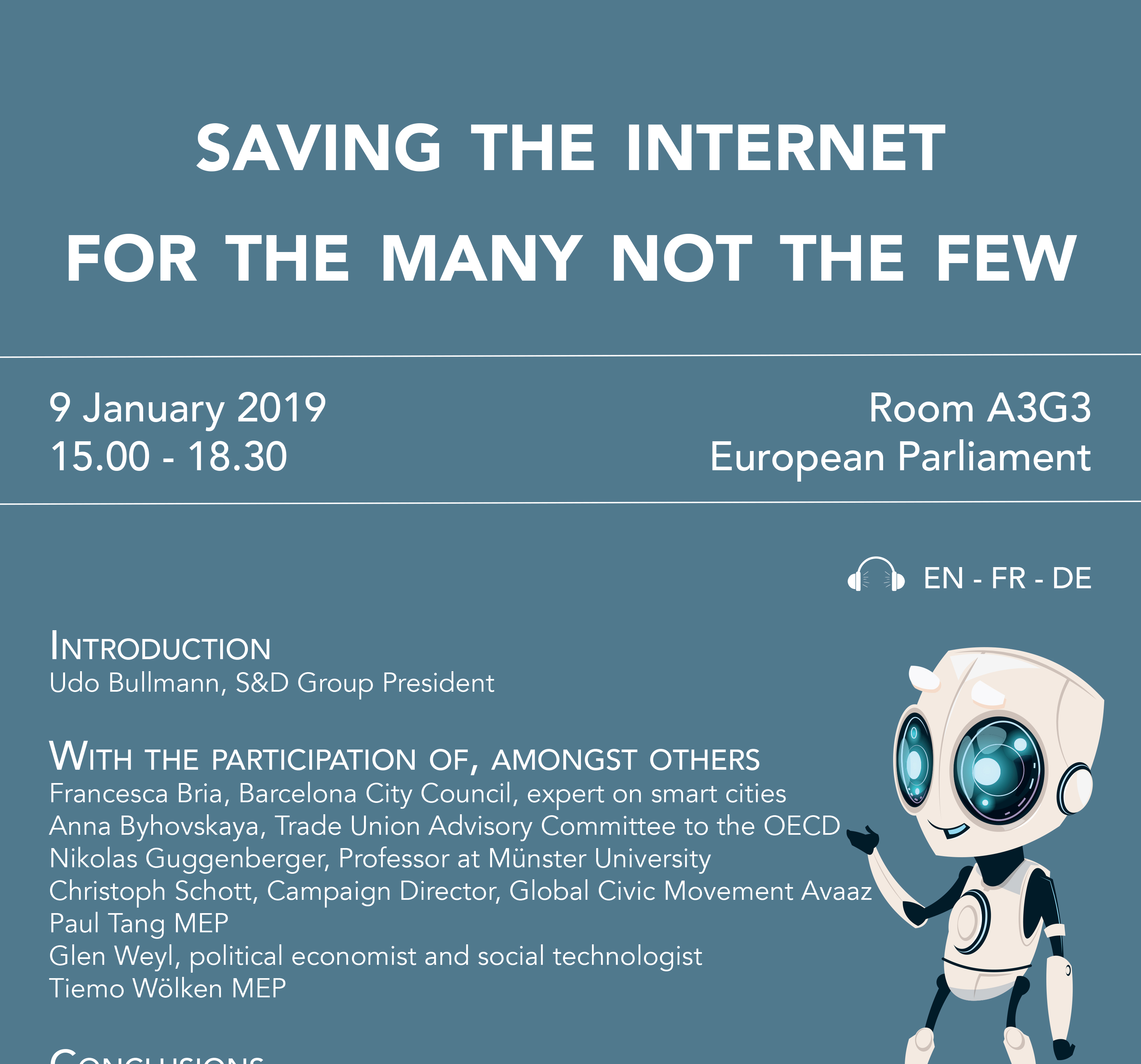 Progressive Society - Saving the Internet for the many not the few