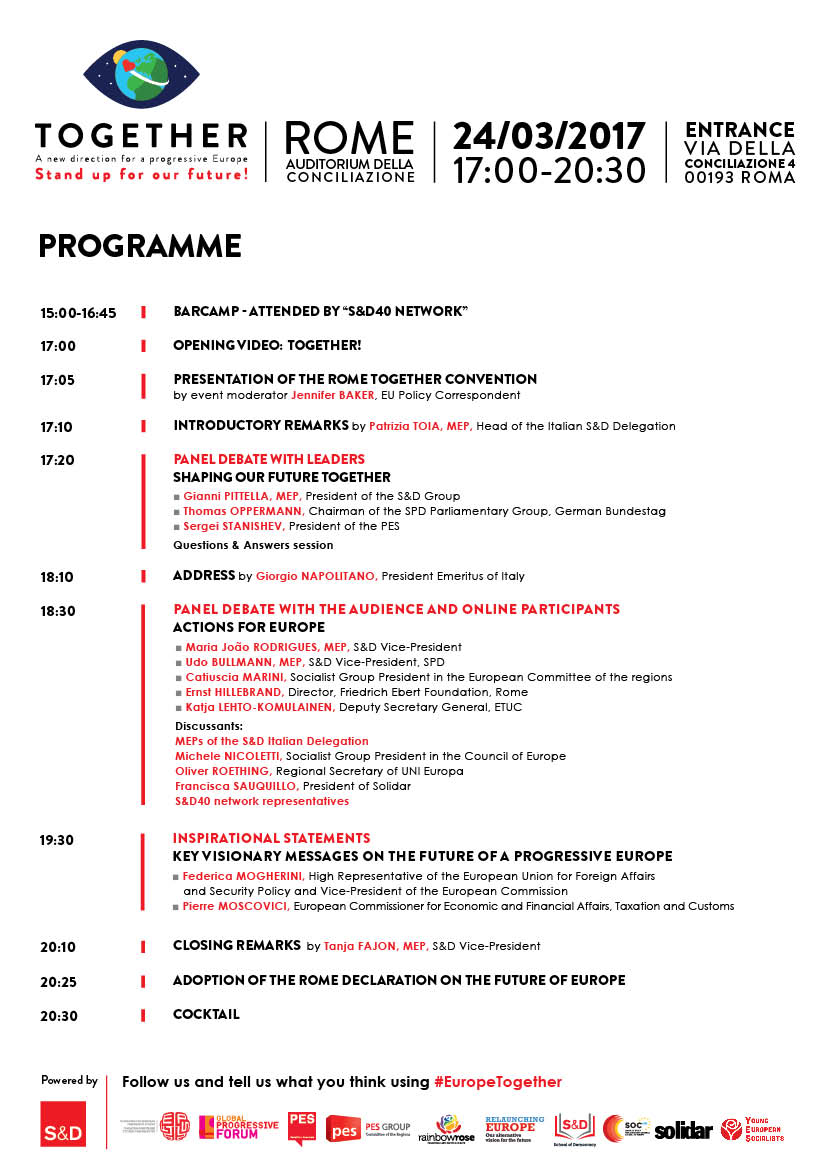 Together Rome - Final Programme