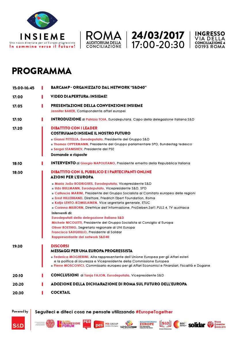 Together Rome - Final Programme IT