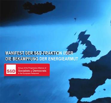 Manifest der S&D-Fraktion über die Bekämpfung der Energie Armut