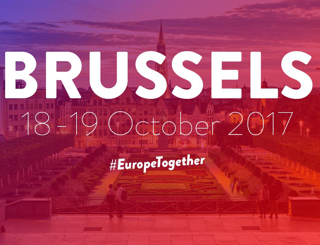 Brussels 18-19 October - #EuropeTogether