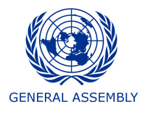 """United Nations logo and words """"United Nations"""""""