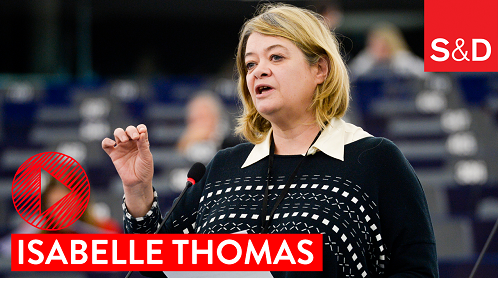 Isabelle Thomas' speech during the Plenary debate on the European Commission's working programme for 2018