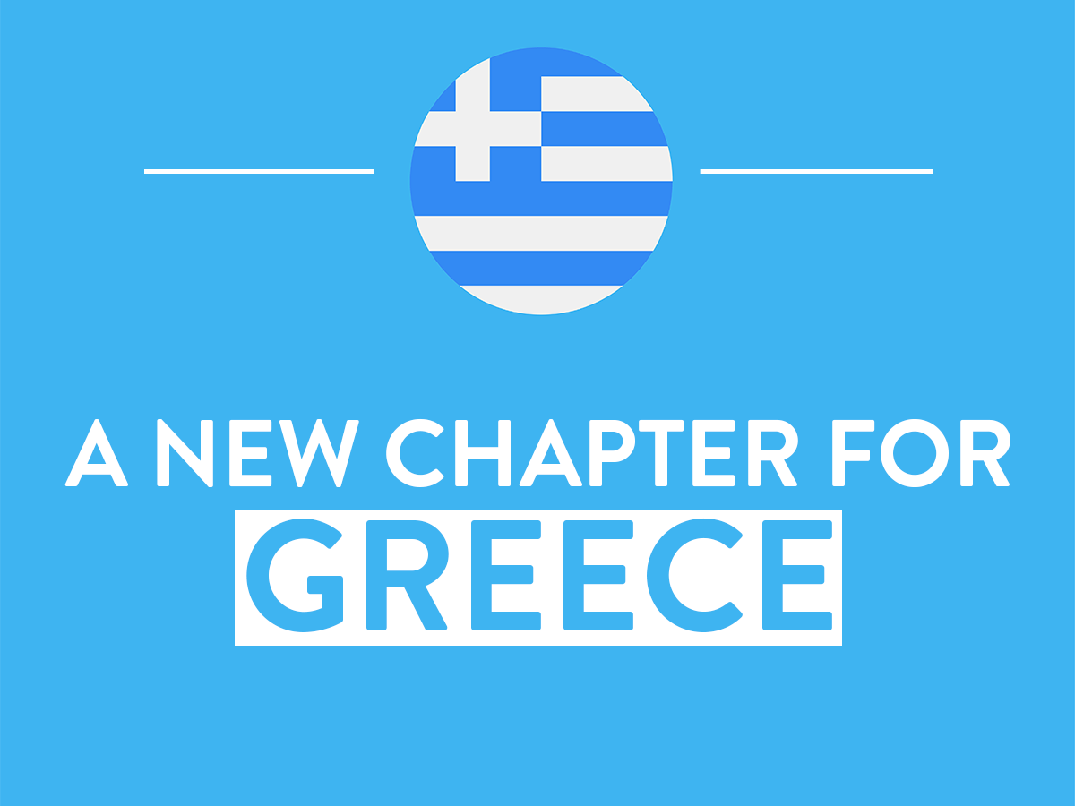 New chapter for Greece and flag