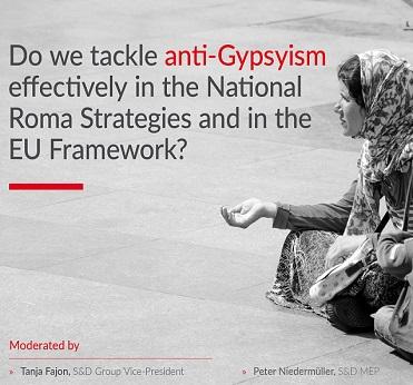 Roma girl gypsy begging