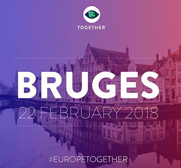 Together Event in Bruges 22 Feb 2018
