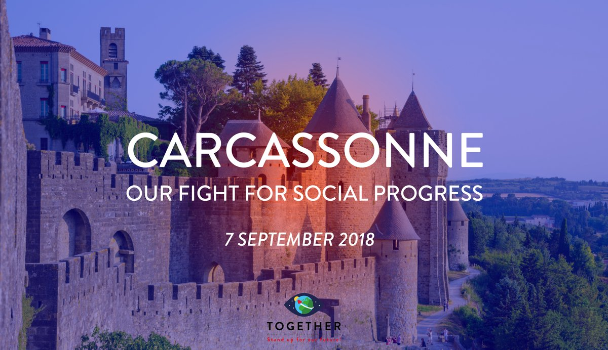 Our fight for social progress - Together event in Carcassonne