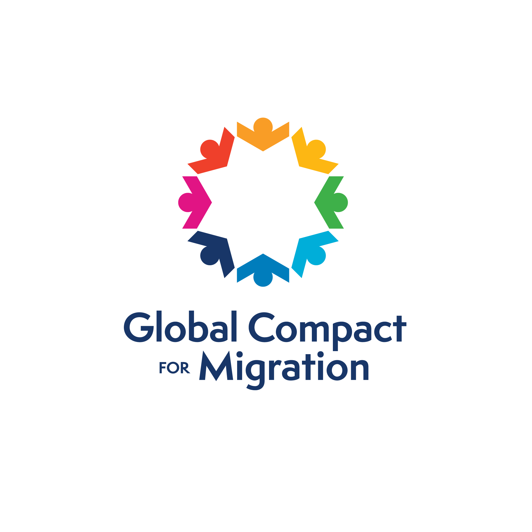 UN global migration compact logo