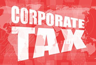 corporate tax - words