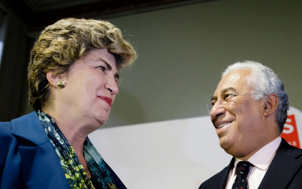 Portuguese Prime Minister, António Costa, and S&D MEP Maria João Rodrigues,