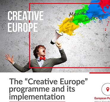 Continuing the Creative Europe programme after 2020, say S&Ds, Silvia Costa MEP, MEDIA programme, Creative Europe Mundus, social inclusion and innovative cross-sectoral and crossover projects, Petra Kammerevert MEP, Silvia Costa,