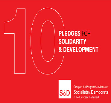 S&D's 10 Pledges for Solidarity & Development - European Year of Development 2015