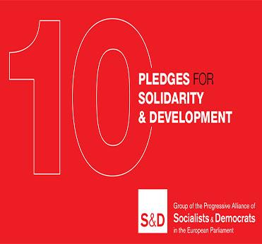 S&D's 10 Pledges for Solidarity & Development - European Year of Development 2015