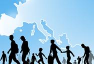 Dublin ageeement , refugees walking