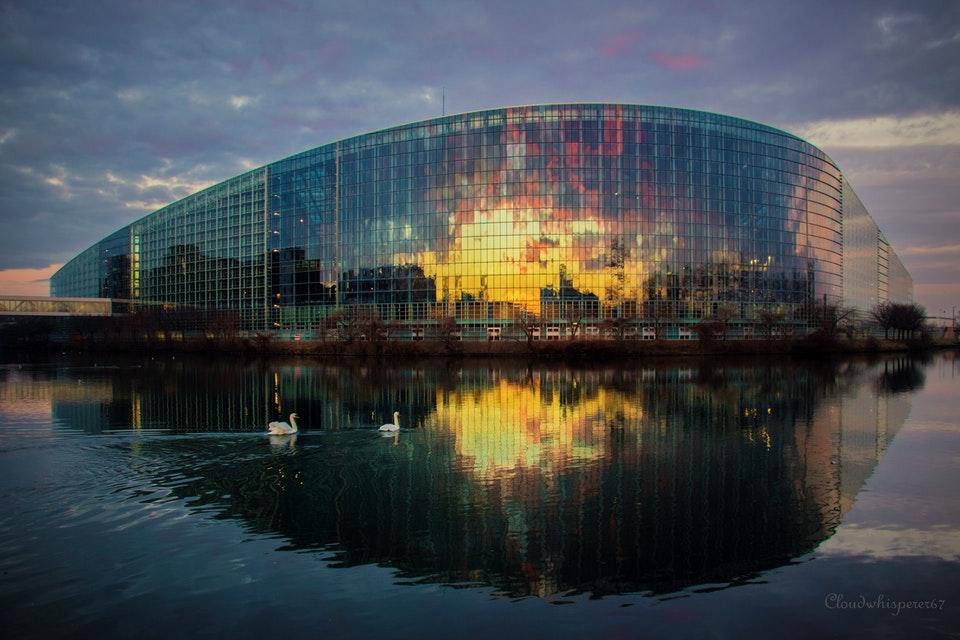 EP building n Strasbourg