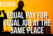 construction worker and equal pay