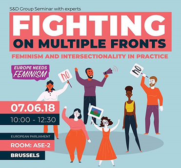 S&D Group Seminar: Fighting on multiple fronts - Feminism and intersectionality in practice.