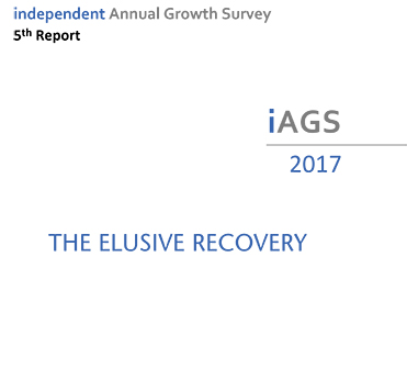 iAGS 2017 - independent Anual Growth Survey, 5th report. The Elusive Recovery