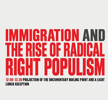 S&D Seminar: Immigration and the rise of radical right populism.