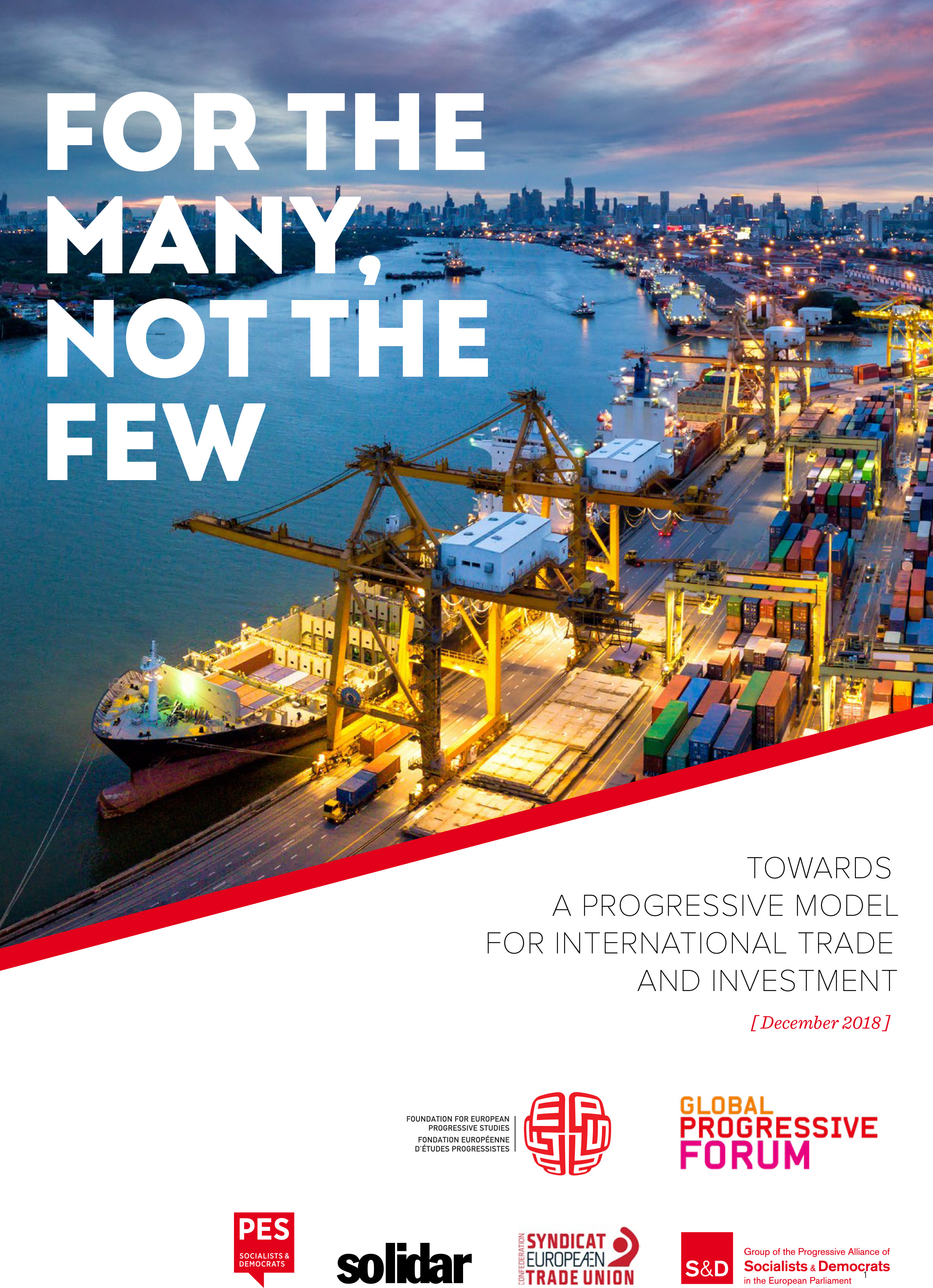 Towards a Progressive Model for International Trade and Investment