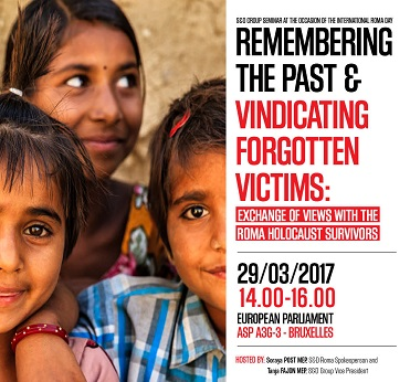 S&D Group Seminar: Remembering the Past and Vindicating Forgotten Victims, #EuwakeUp, Roma,