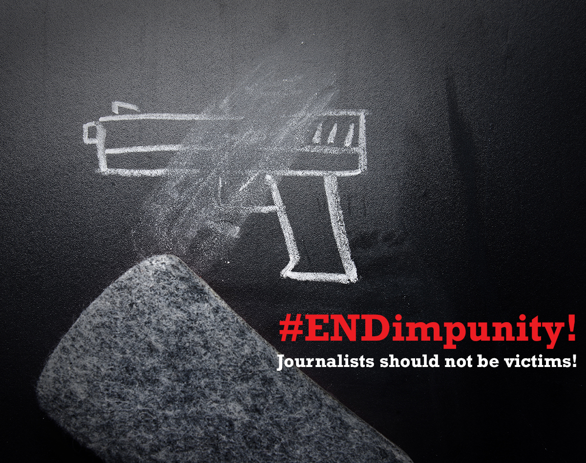 Gun and do not kill journalists