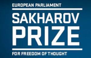 Sakharov prize - freedom of thought - EP logo