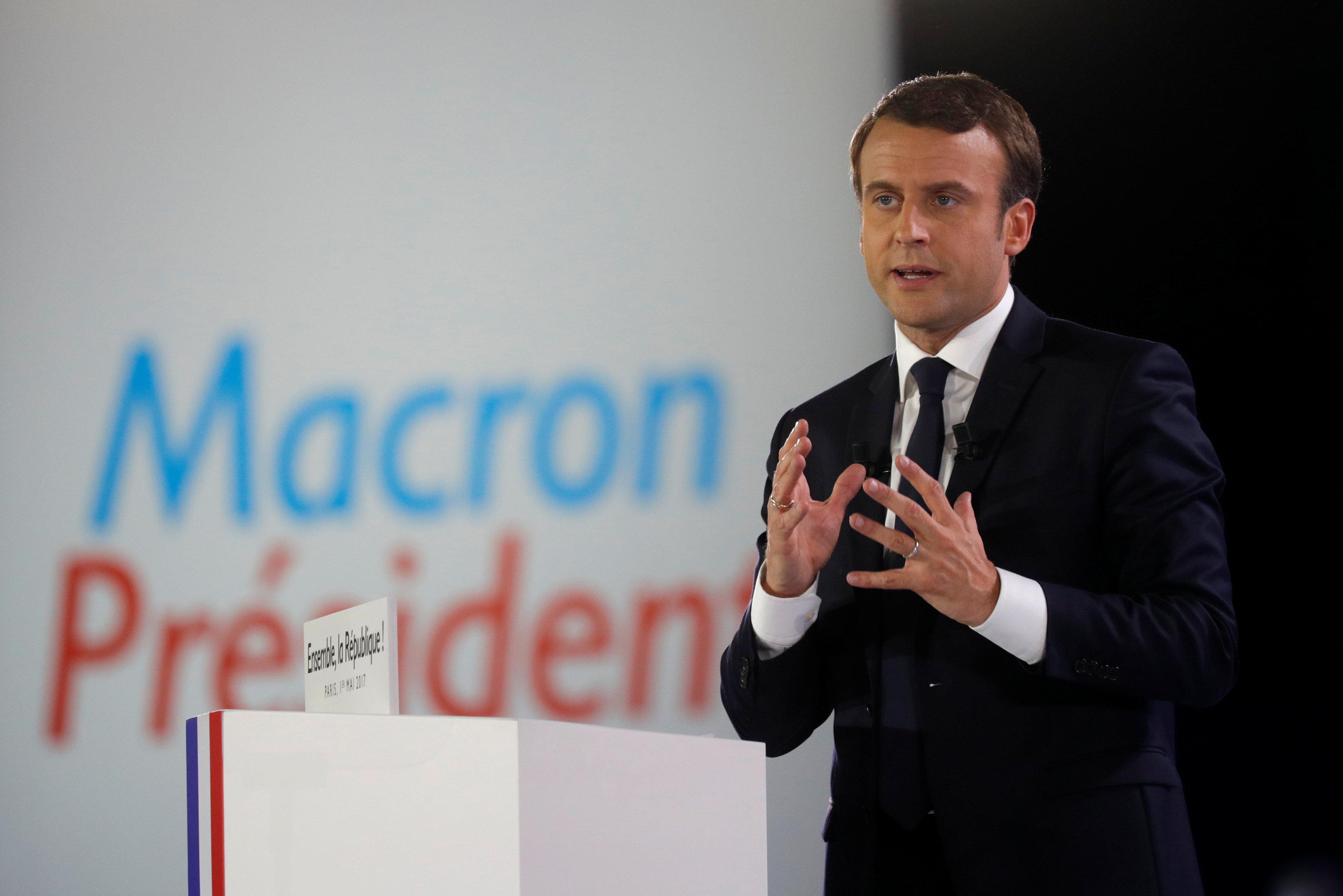 French Président Emanuelle Macron