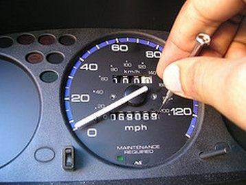 Tampering with an odometer