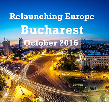 Relaunching Europe event in Bucharest on 21 October 2016