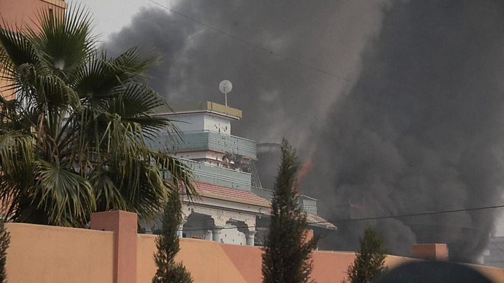 Attack on save the children building in afghanistan
