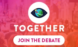 TOGETHER - JOIN THE DEBATE