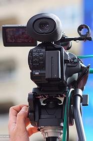 Video camera filming