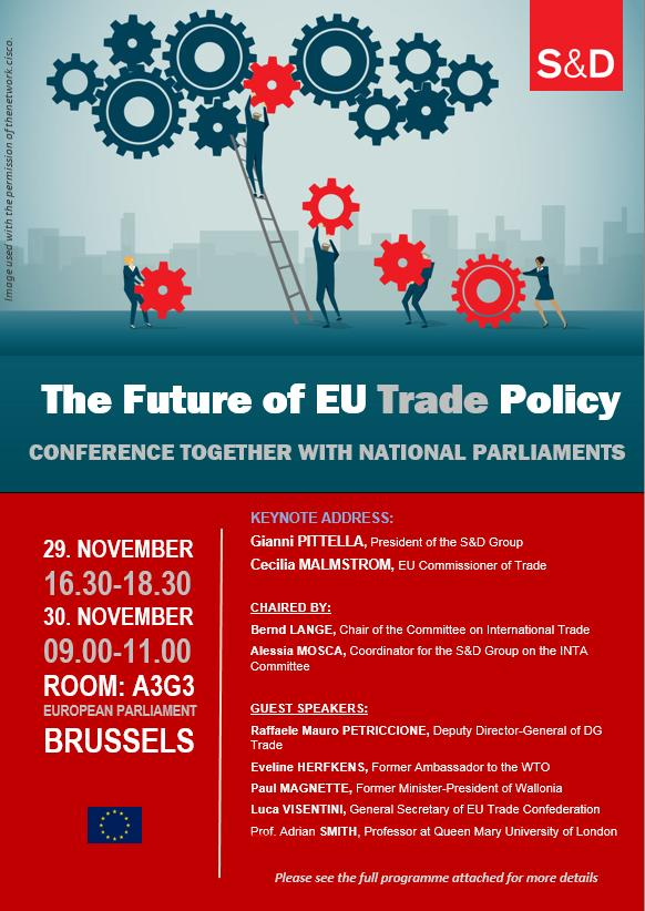 S&D Conference: The Future of EU Trade Policy.
