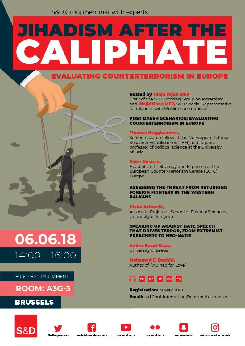 Jihadism after the Caliphate - Evaluating counterterrorism in Europe.