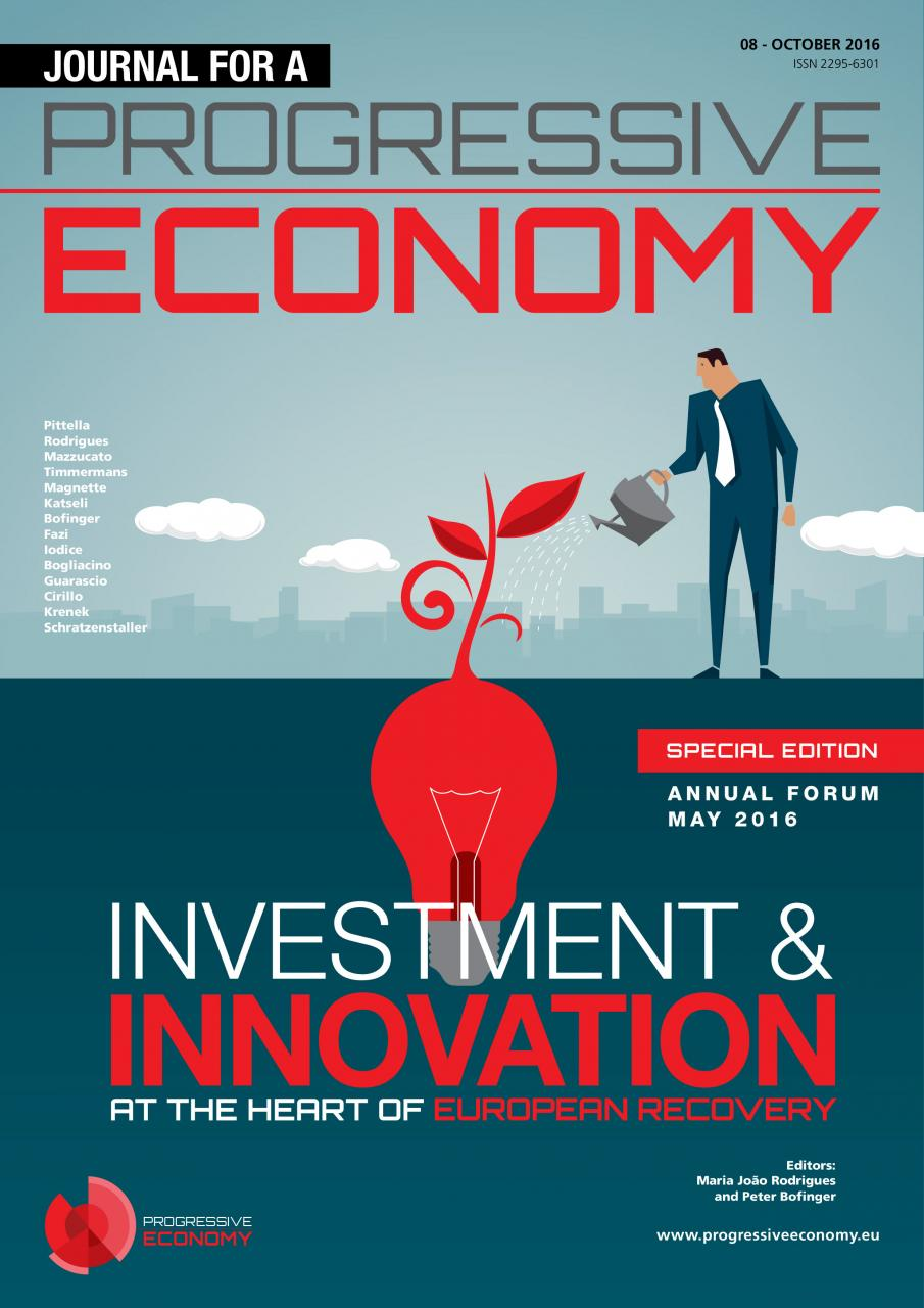 Journal for a Progressive Economy - Investment & Innovation at the Heart of European Recovery (Special Edition)