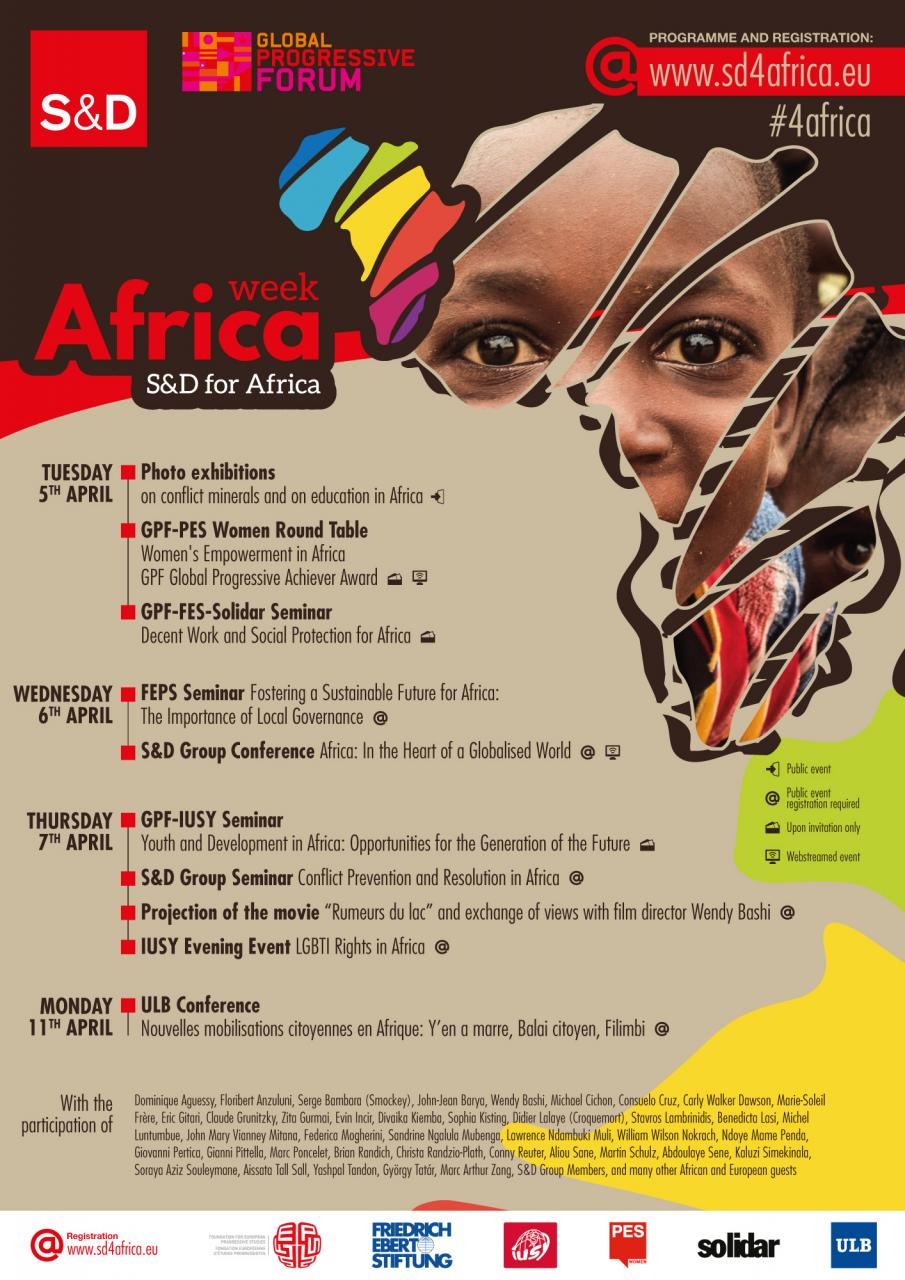 S&D Group - Africa Week: A series of political and cultural events