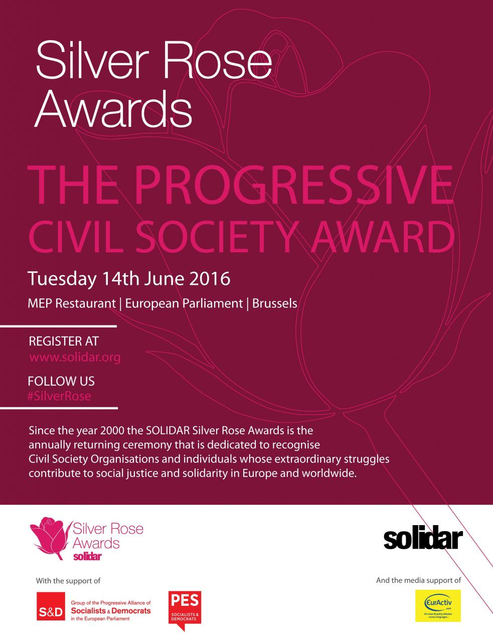 Silver Rose Awards: The Progressive Civil Society Award