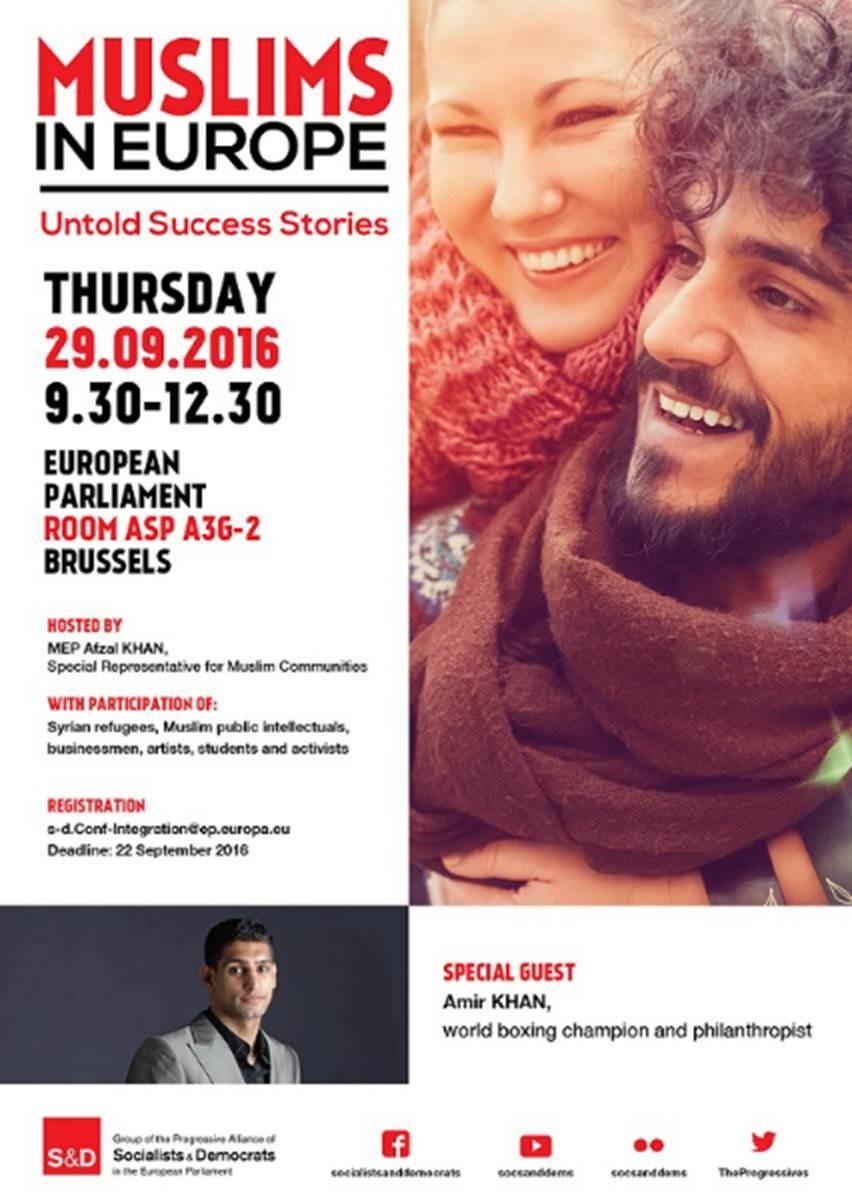 S&D Conference: Muslims in Europe - Untold Success Stories