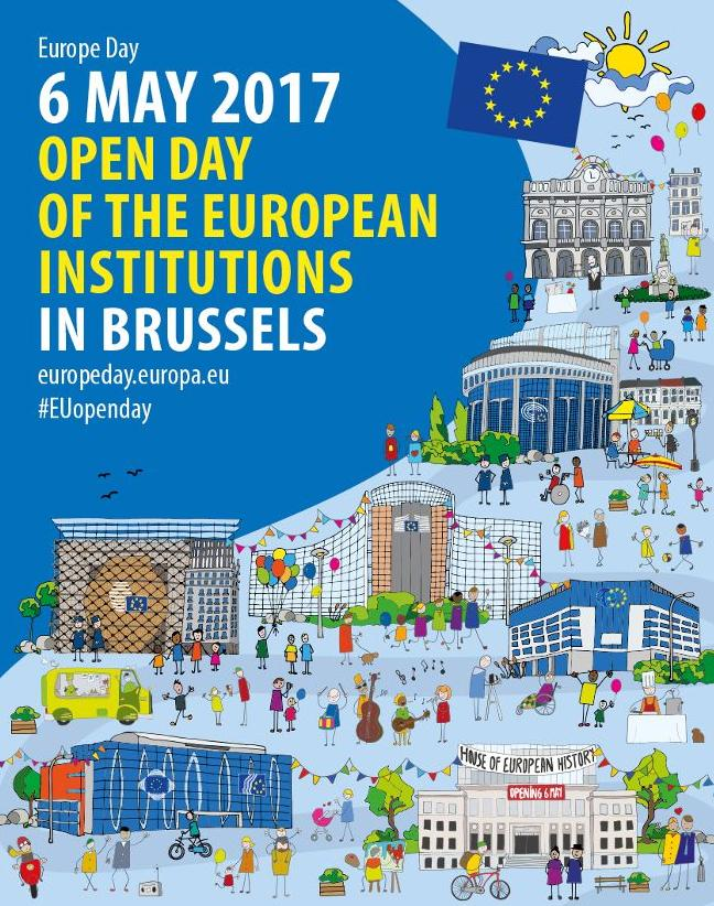 European Parliament's Open Day - Brussels 6 May 2017.