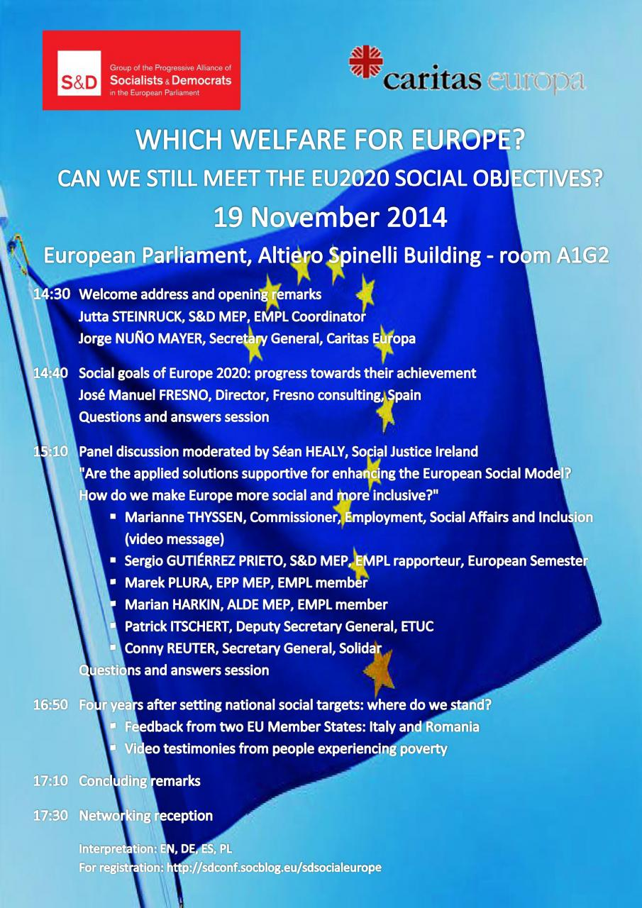 Which welfare for Europe? Can we still meet the EU2020 social objectives?