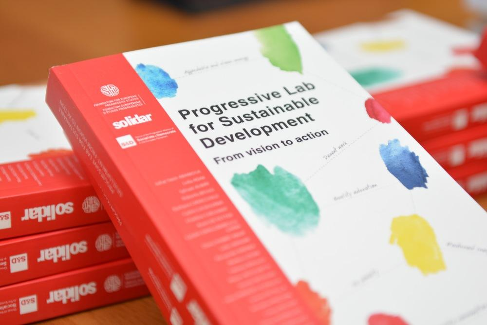 Progressive lab for sustainable development book cover