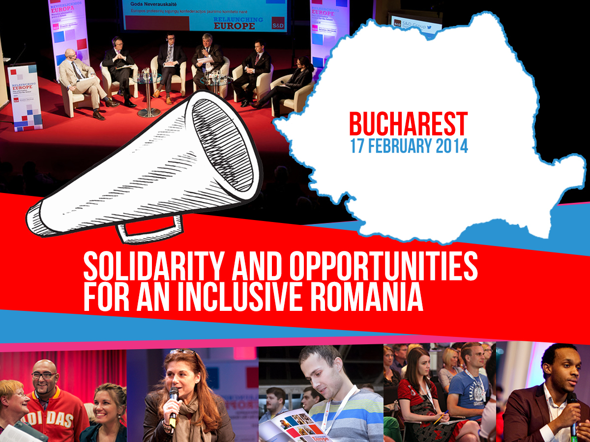 Relaunching Europe in Bucharest, Romania 17/02/2014